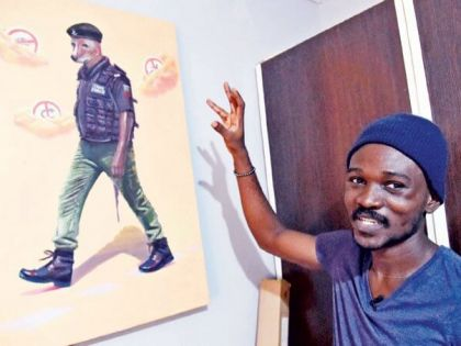 Nigeria's Social Satirist Julius Agbaje Fights Injustice with Art
